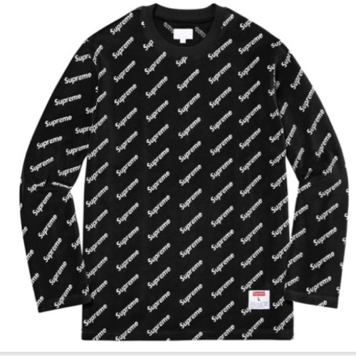 17FW DIAGONAL LOGO L/S TOP