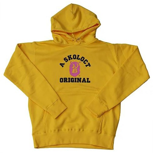 ORGINAL LOGO PULLOVER YELLOW