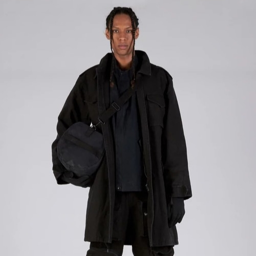 TORIN M51 TRENCH COAT BLACK