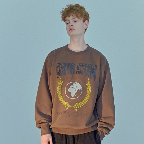 BAY TREE SWEATSHIRT BROWN