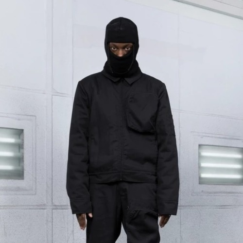 GAREN WORK JACKET BLACK