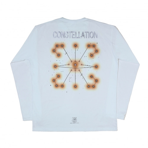 CONSTELLATION L/S TEE WHITE