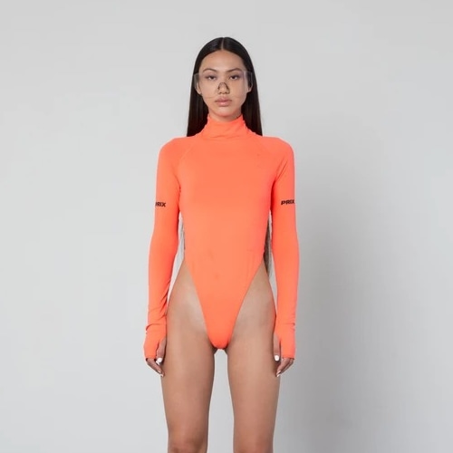 AKINA BODYSUIT NEON ORANGE