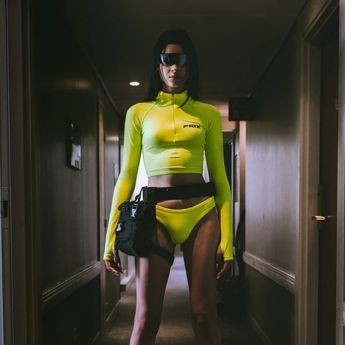 KNIGHT TOP NEON YELLOW