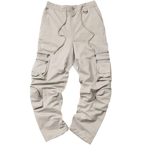4 POCKET NPC CARGO PANTS DARK BEIGE