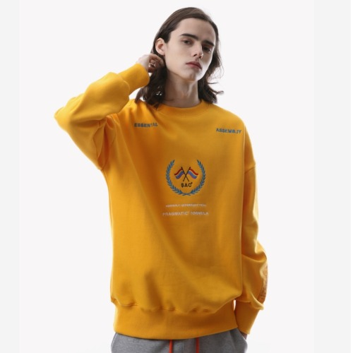 FLAG CREWNECK YELLOW