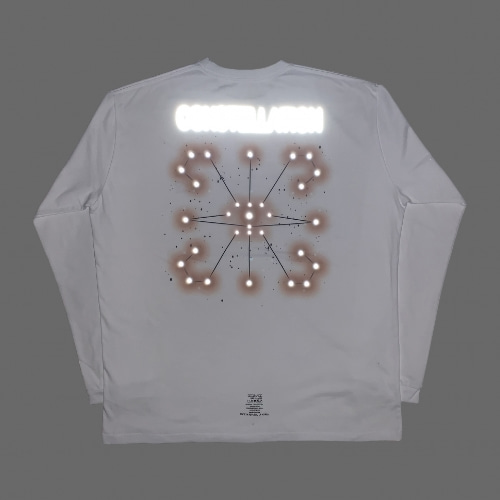 CONSTELLATION L/S TEE WHITE (RF)