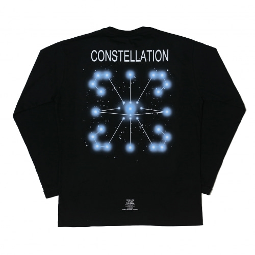 CONSTELLATION L/S TEE BLACK