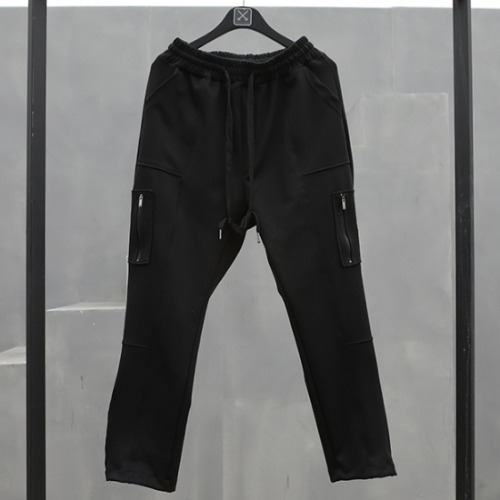 TECHNICAL ZIPPER POCKET PANT