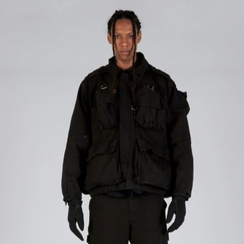 TORIN UTILITY JACKET BLACK