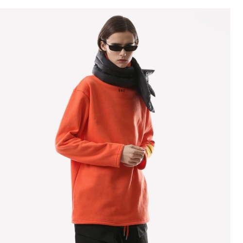 MINI LOGO TURTLE NECK ORANGE