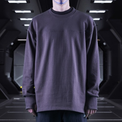 GALAXY HIT MAN CREWNECK DARK GREY