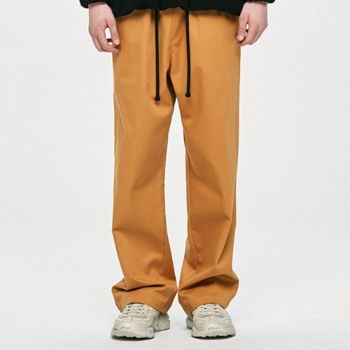 WIDE PANTS - YELLOW