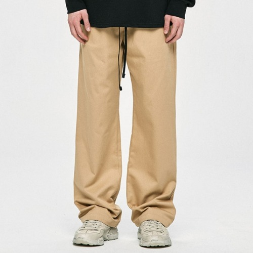 WIDE PANTS - BEIGE