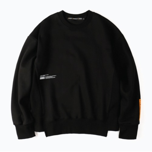 PLEASURE CREWNECK BLACK