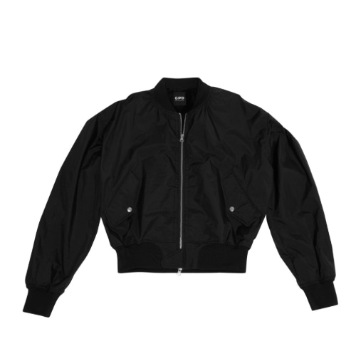 Boar MA-1 Jacket Black