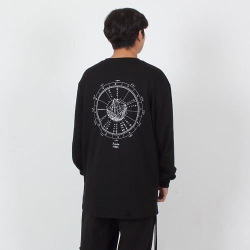 CONSTELLATION LONG SLEEVE BLACK