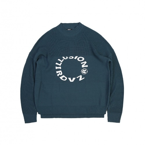 LLUSION KNIT GREEN