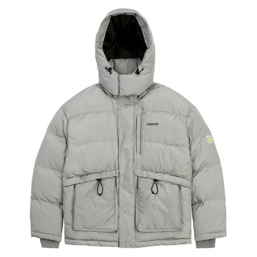 PSYCHEDELIC DOWN JACKET GREY
