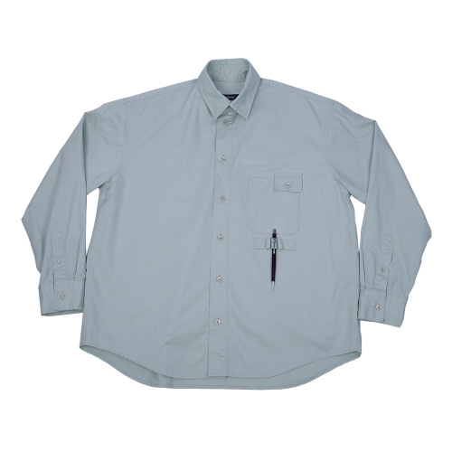 WASHED WORKSHIRT MINT