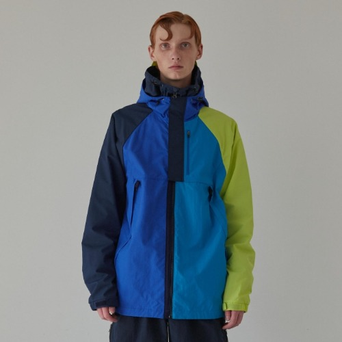MULTI COLOR WINDBREAKER