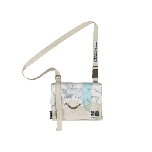 #CWK:DHAC'1 CROSS BAG IVORY