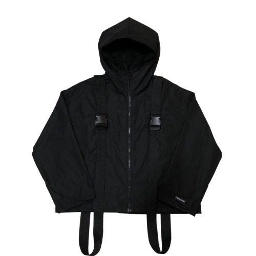 OVER HOODED JACKET