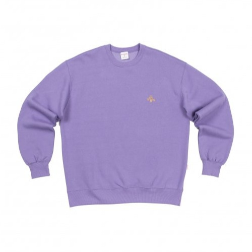 KITSCHS CROWN SWEATSHIRT LIGHT PURPLE