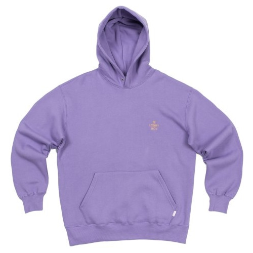 LOBBY BOY HOODIE LIGHT PURPLE