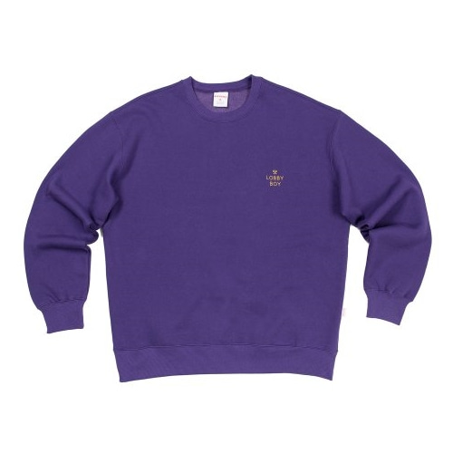 LOBBY BOY SWEATSHIRT PURPLE