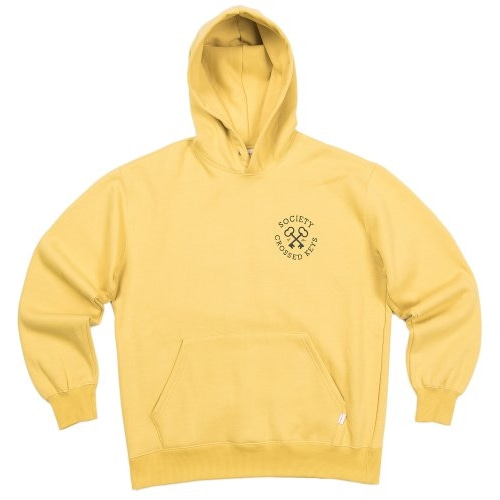 CROSS KEY HOODIE YELLOW