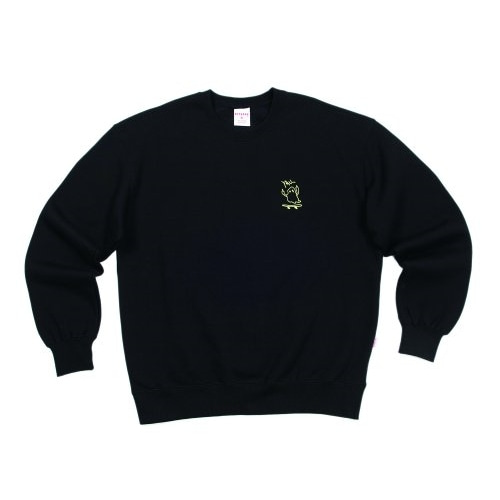 GHOST BOARDER SWEATSHIRT BLACK
