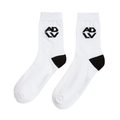 ADLV HEXAGON SIGNATURE SOCKS WHITE