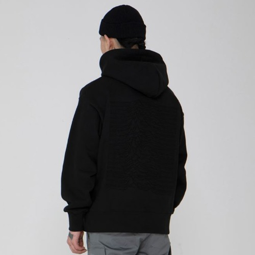 DIVISION WASHING HEAVYWEIGHT HOOD BLACK