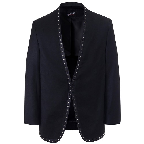 PAUL COLLARLESS JACKET WITH SWAROVSKI