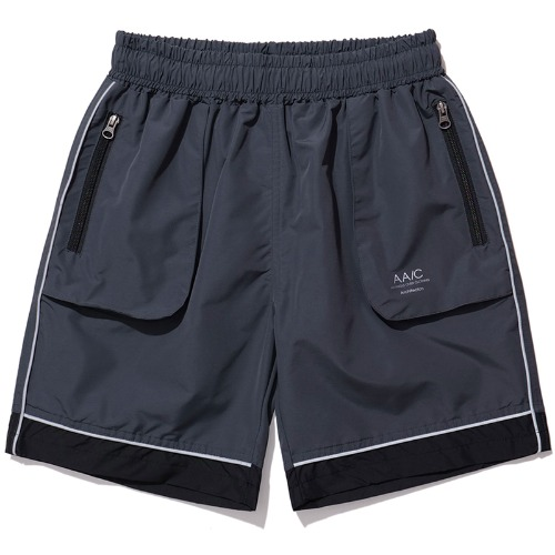 MOD01 REFLECTIVE SHORTS (CHARCOAL)