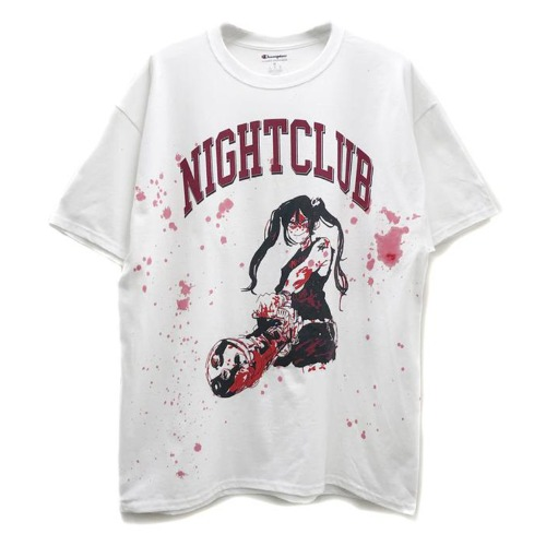 GIRLY GUN TEE WHITE (LIMITED VERSION)
