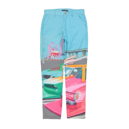 ALL OVER PRINT WORK PANTS MULTI