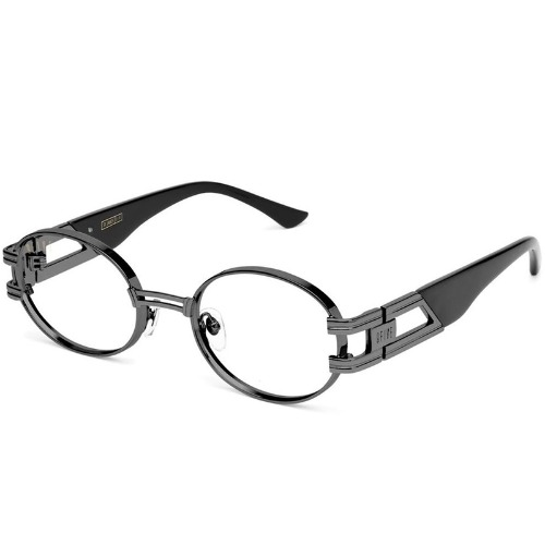 ST. JAMES GUN METAL WITH CLEAR LENS