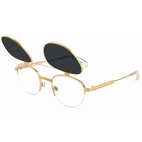 DIME FLIP-UP GOLD SUNGLASSES