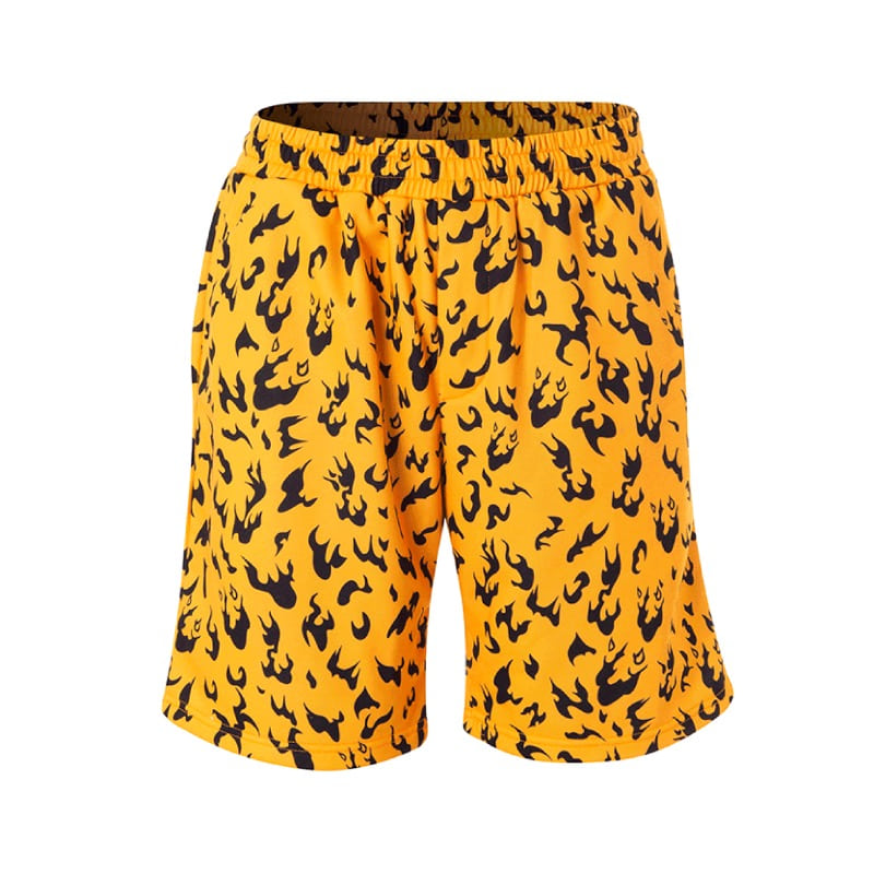 MAGMA CAMO SHORTS ORANGE