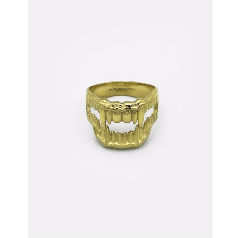 BITE ME RING GOLD