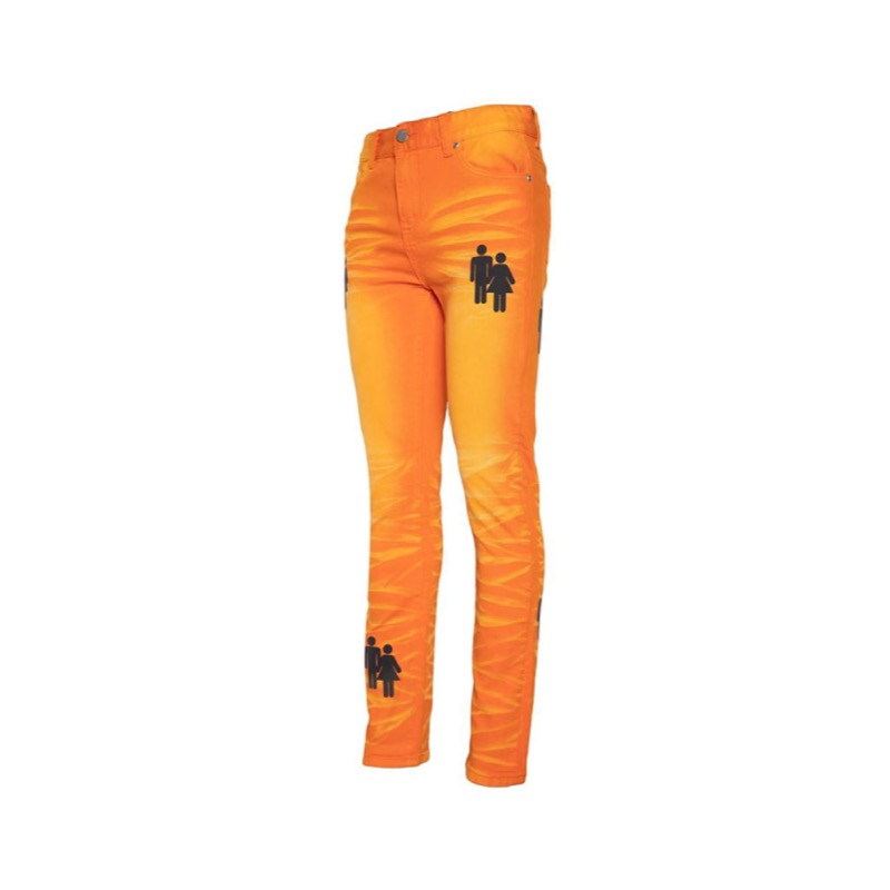DUO DENIM ORANGE