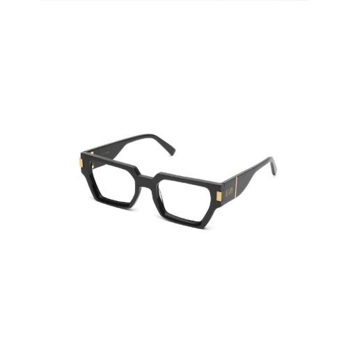 LOCKS BLACK 24K GOLD WITH CLEAR LENS