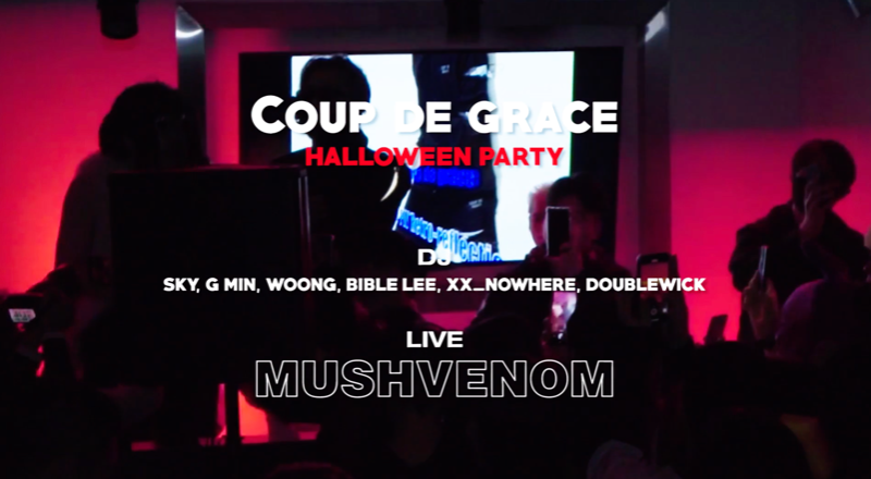 COUP DE GRACE HALLOWEEN WITH MUSHVENOM 。