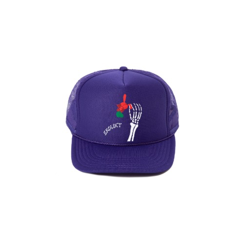 SKEKETON PURPLE CAP
