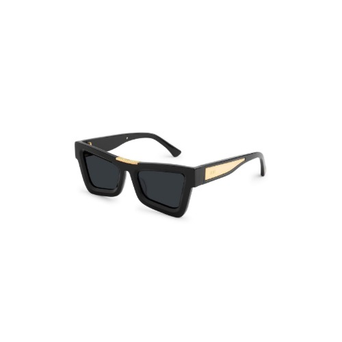 MARAUDER BLACK 24K GOLD SUNGLASSES