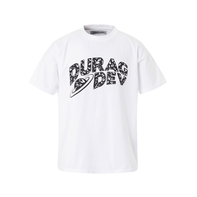 DURAG DEV LOGO T-SHIRT WHITE