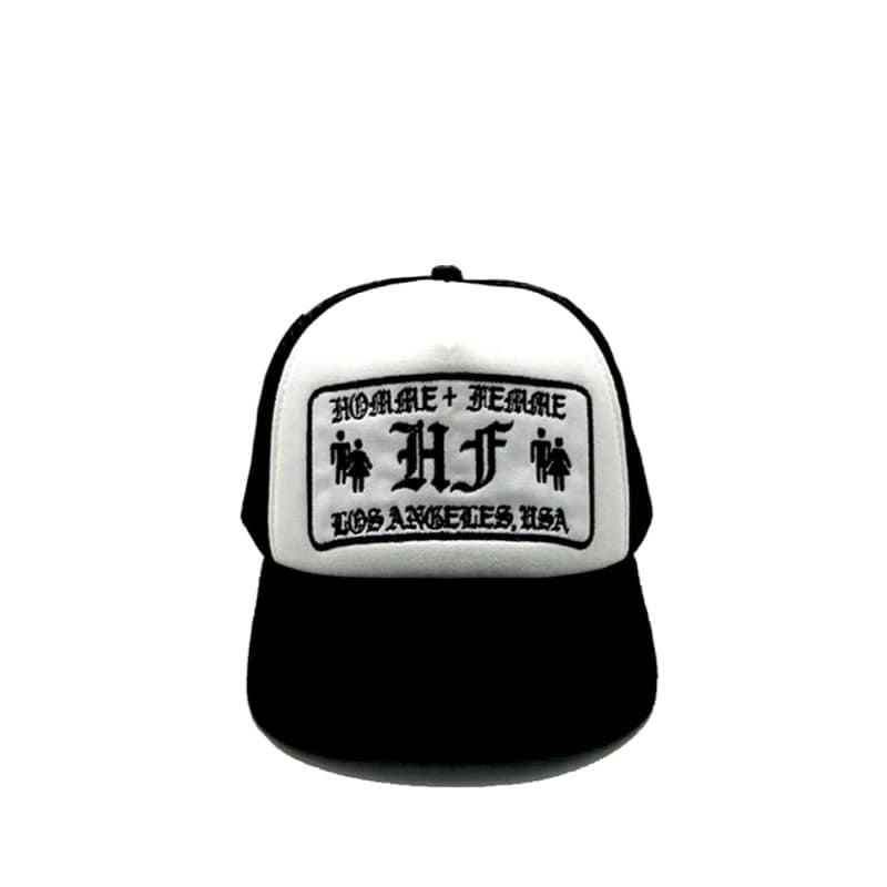 OLD ENGLISH LOGO HAT WHITE