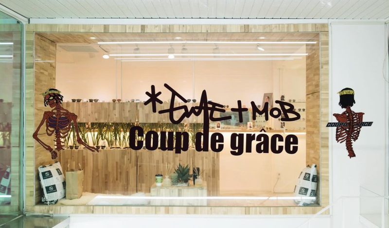 EVAE+ MOB x COUP DE GRACE POP-UP STORE